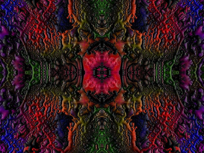 Eruption Kunstdruck auf Leinwand