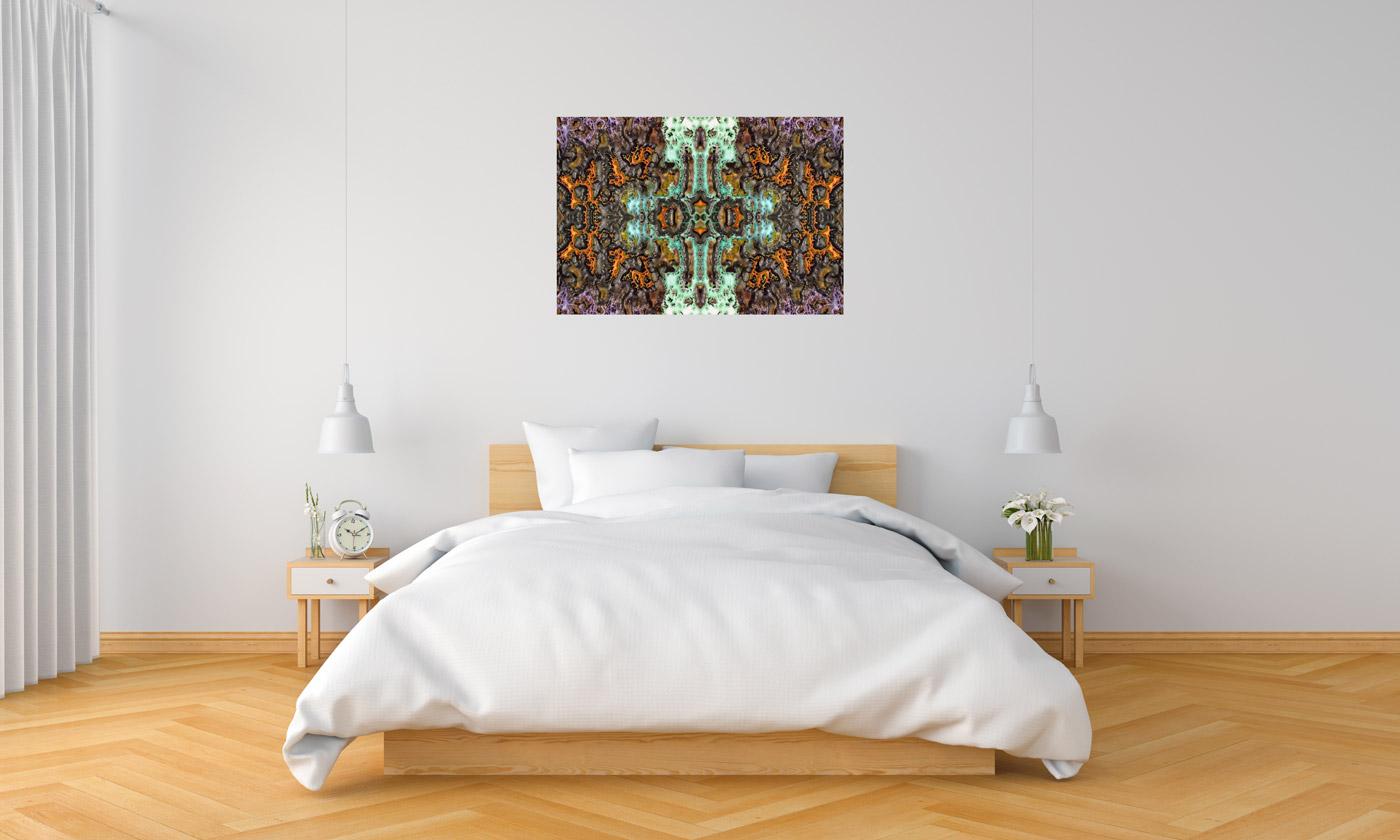 Keltenkreuz im Schlafzimmer