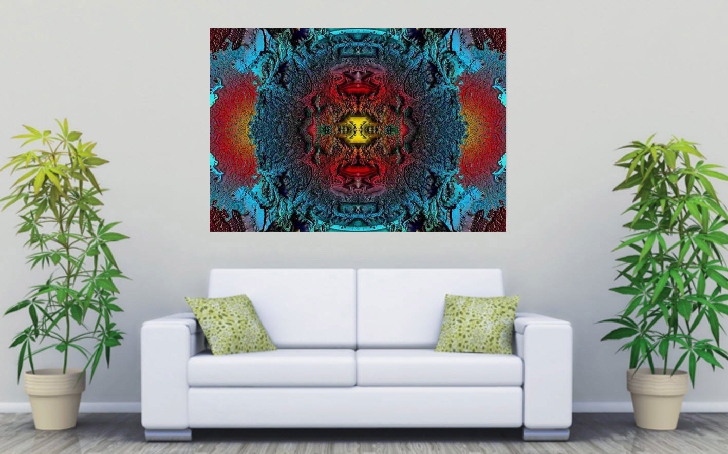 Kunstdruck Supernova