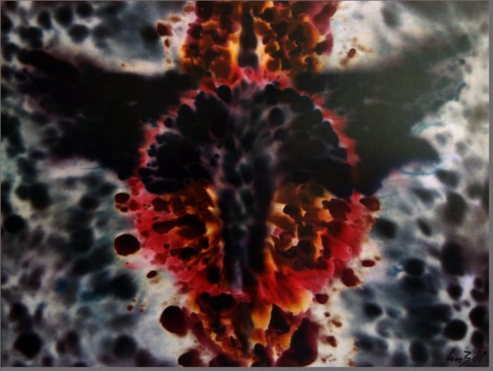 Thunderbird Kunstdruck auf Leinwand